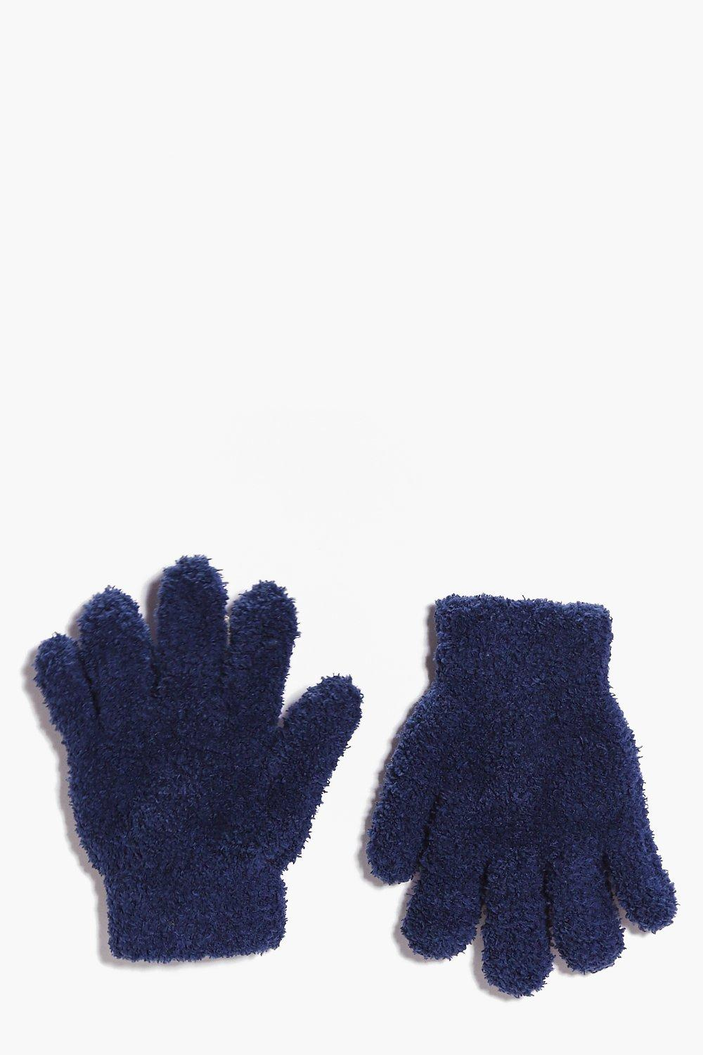 Girls Thermal Snow Soft Magic Gloves