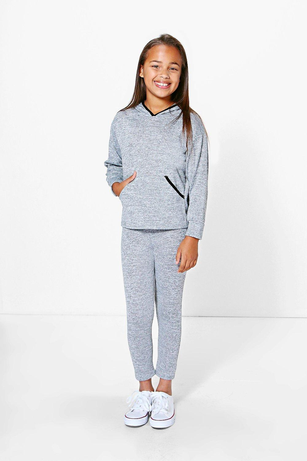 Girls Love Tracksuit With Contrast Trim