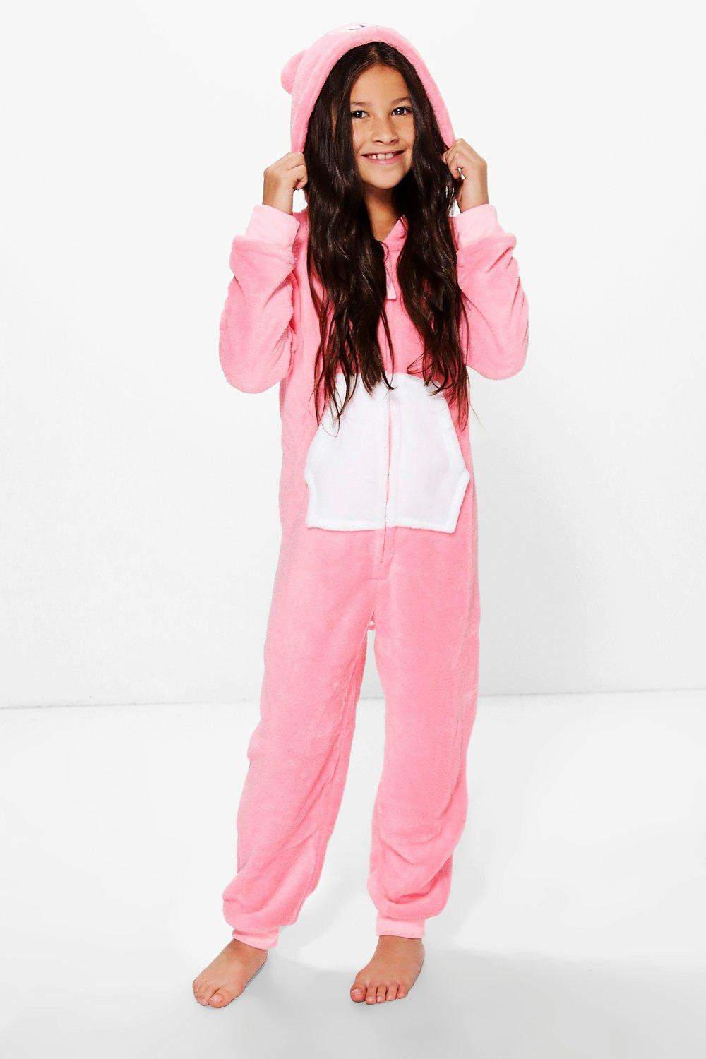 Girls Teddy Bear Onesie