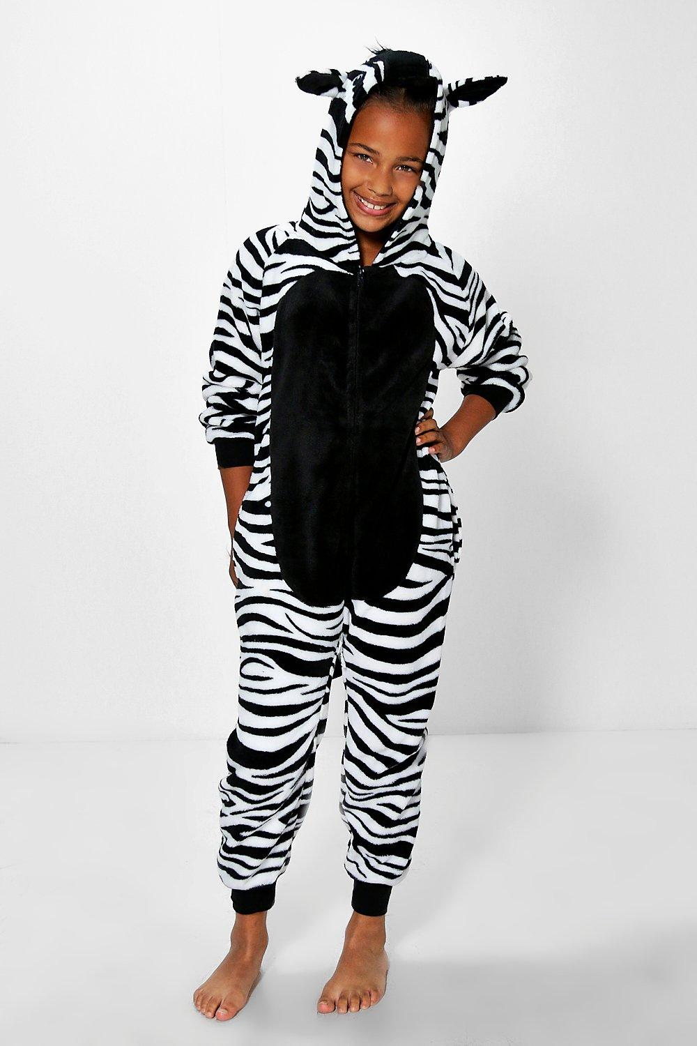 Girls Zebra Supersoft Onesie