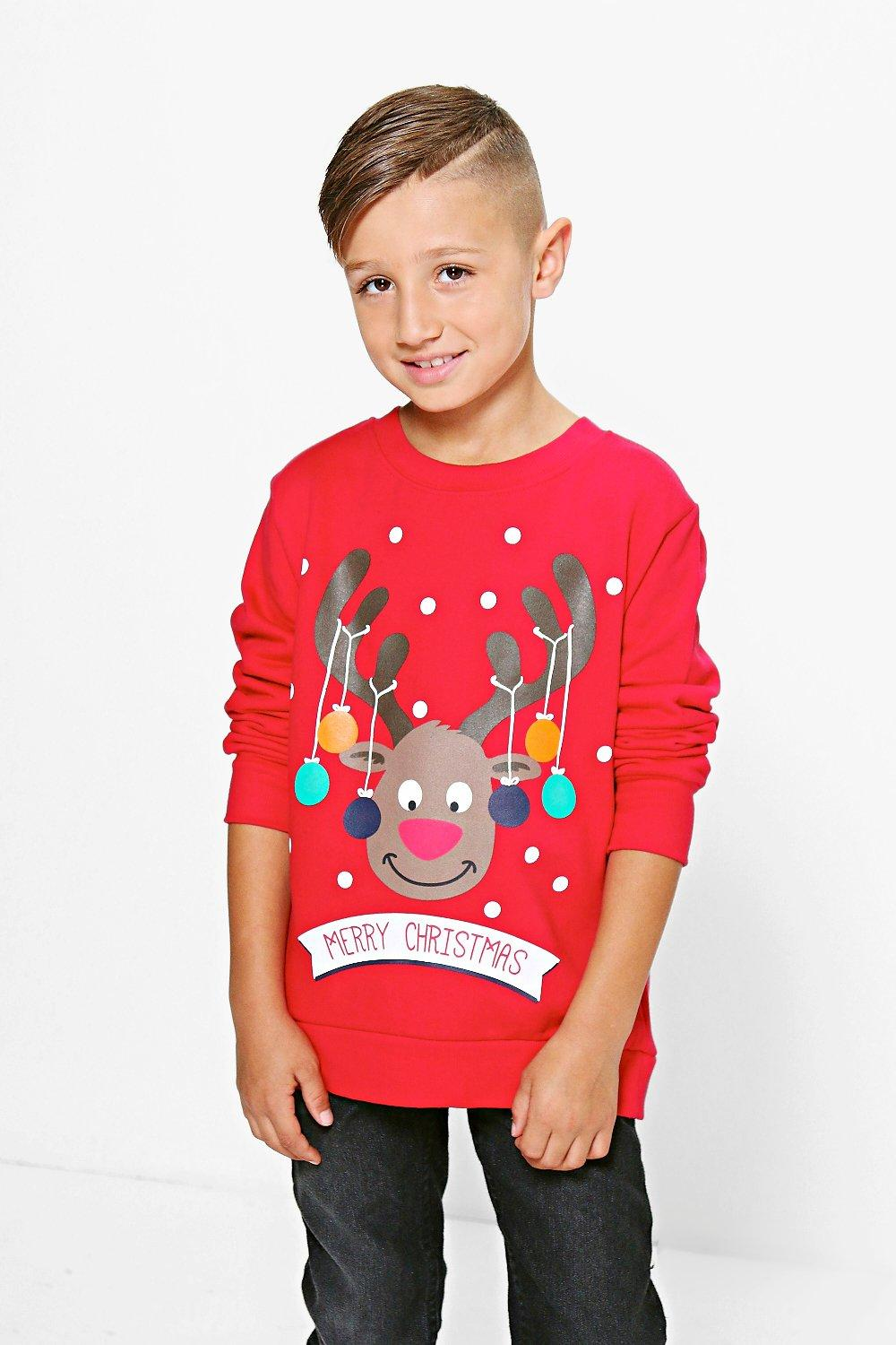Boys Rudolph Jumper