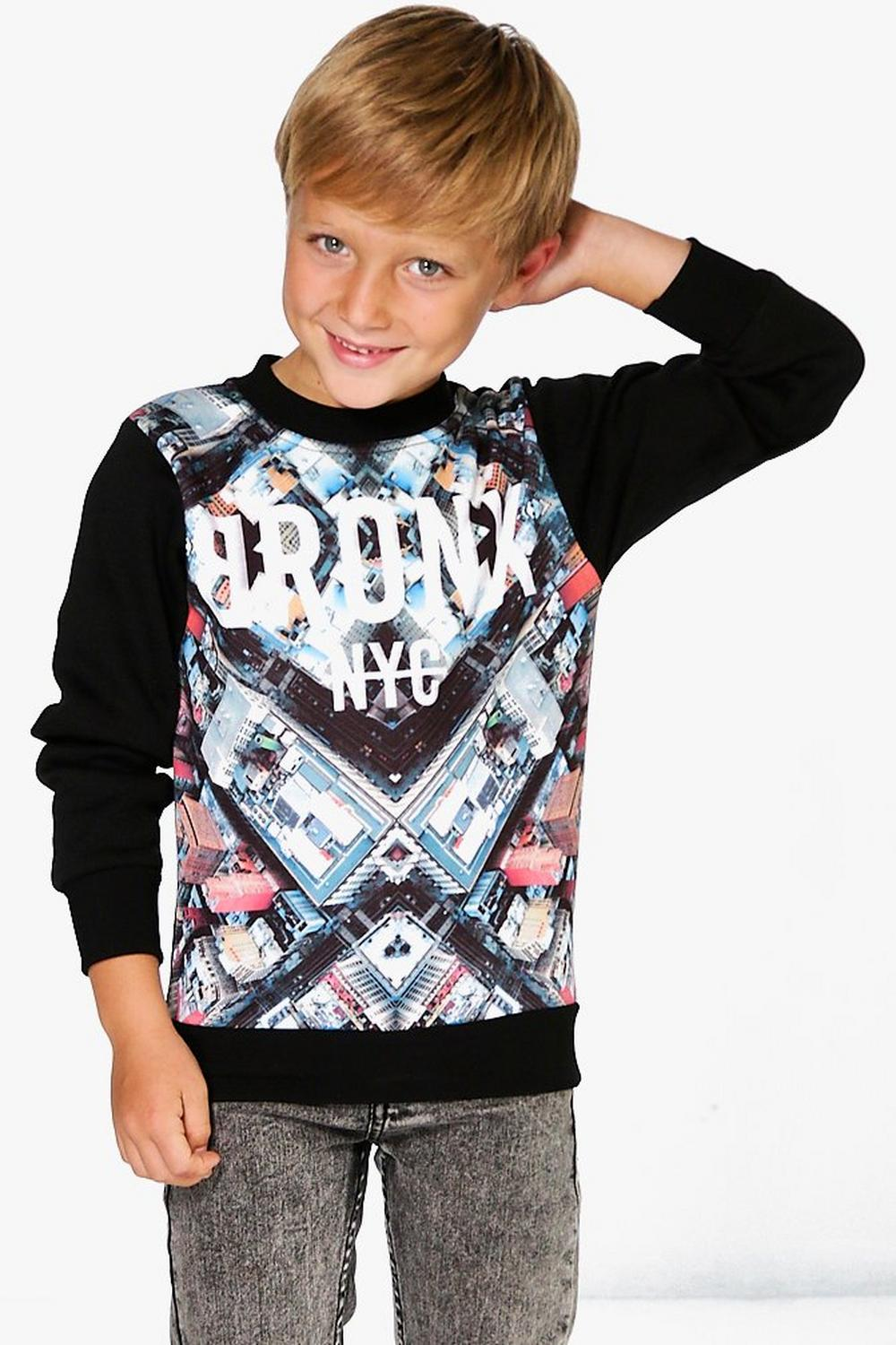 Boys City Scene Sweat Shirt