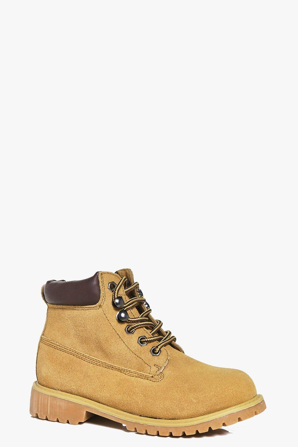 Boys Lace Up Hiker Boots