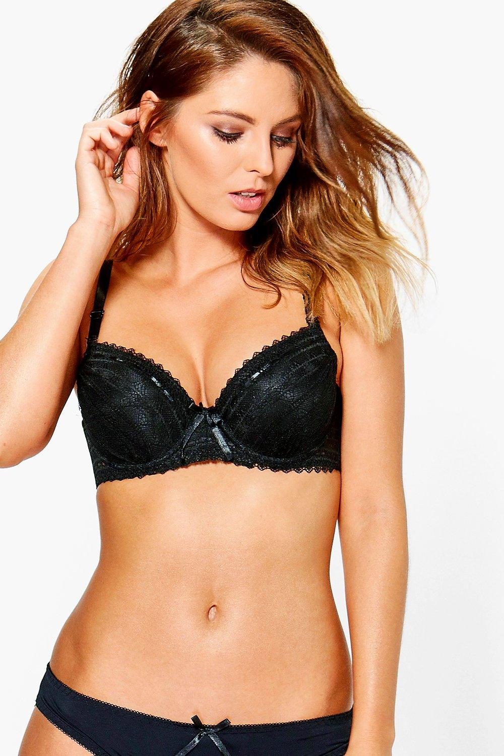 Lauren Lace Detail Underwired Bra