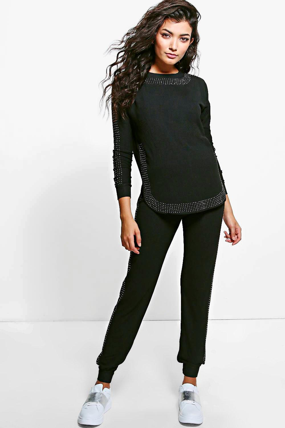 Molly Embellished Loungewear Tracksuit