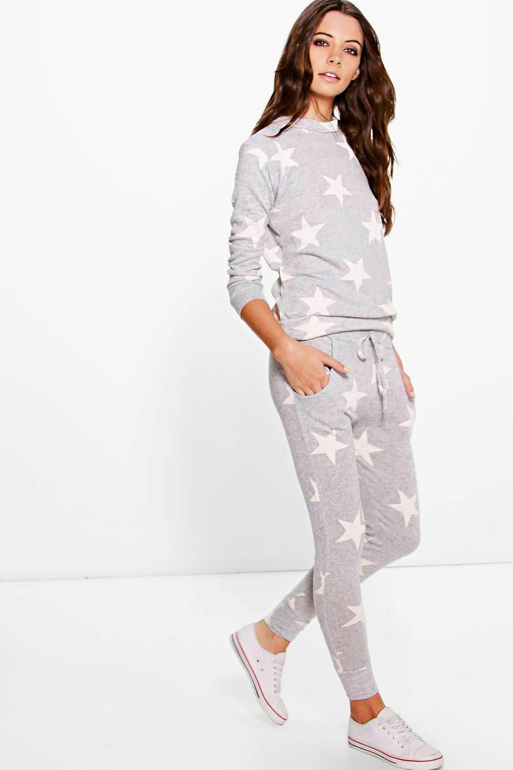 Darcy Star Print Knitted Lounge Set