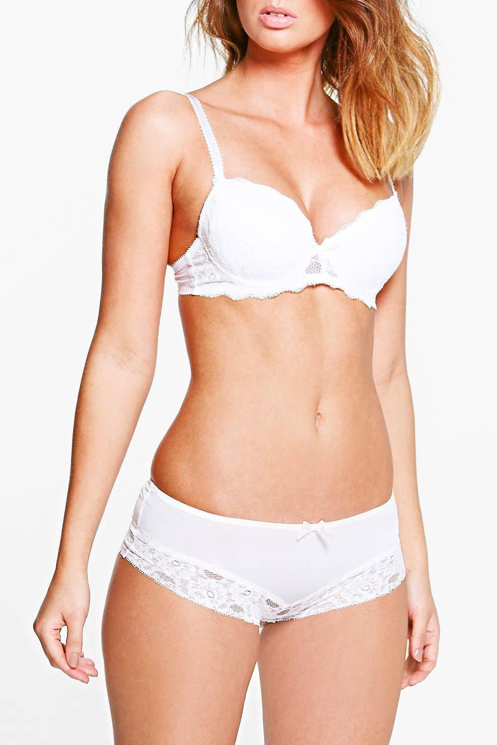 Julie Lace Hipster Brief