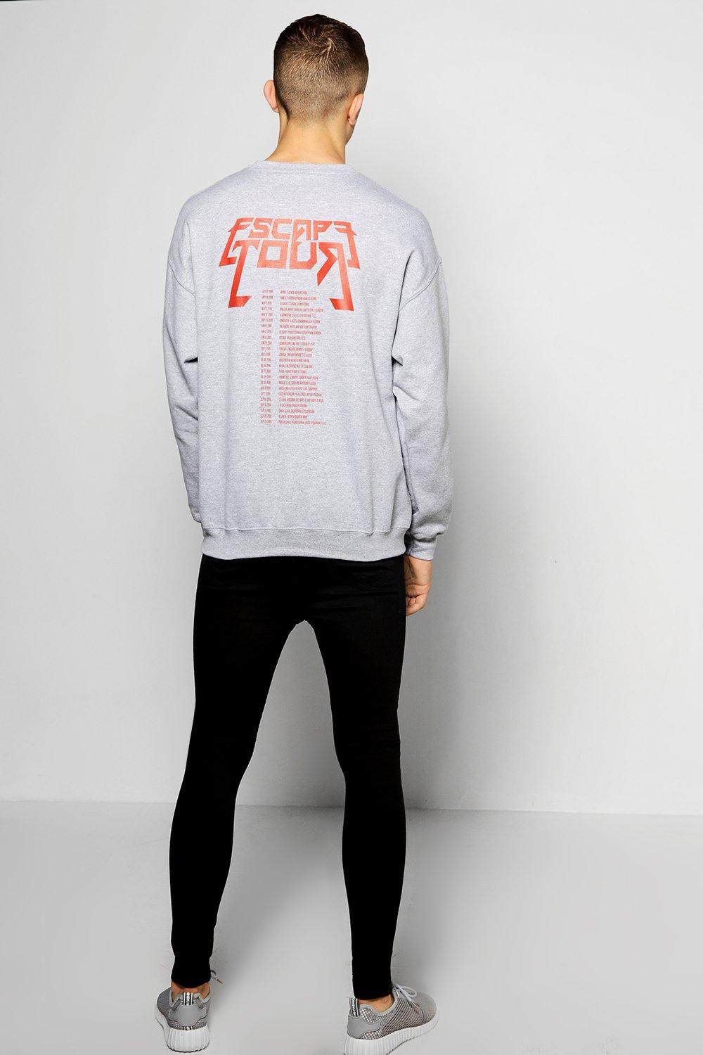 Oversized Escape Tour Sweatshirt