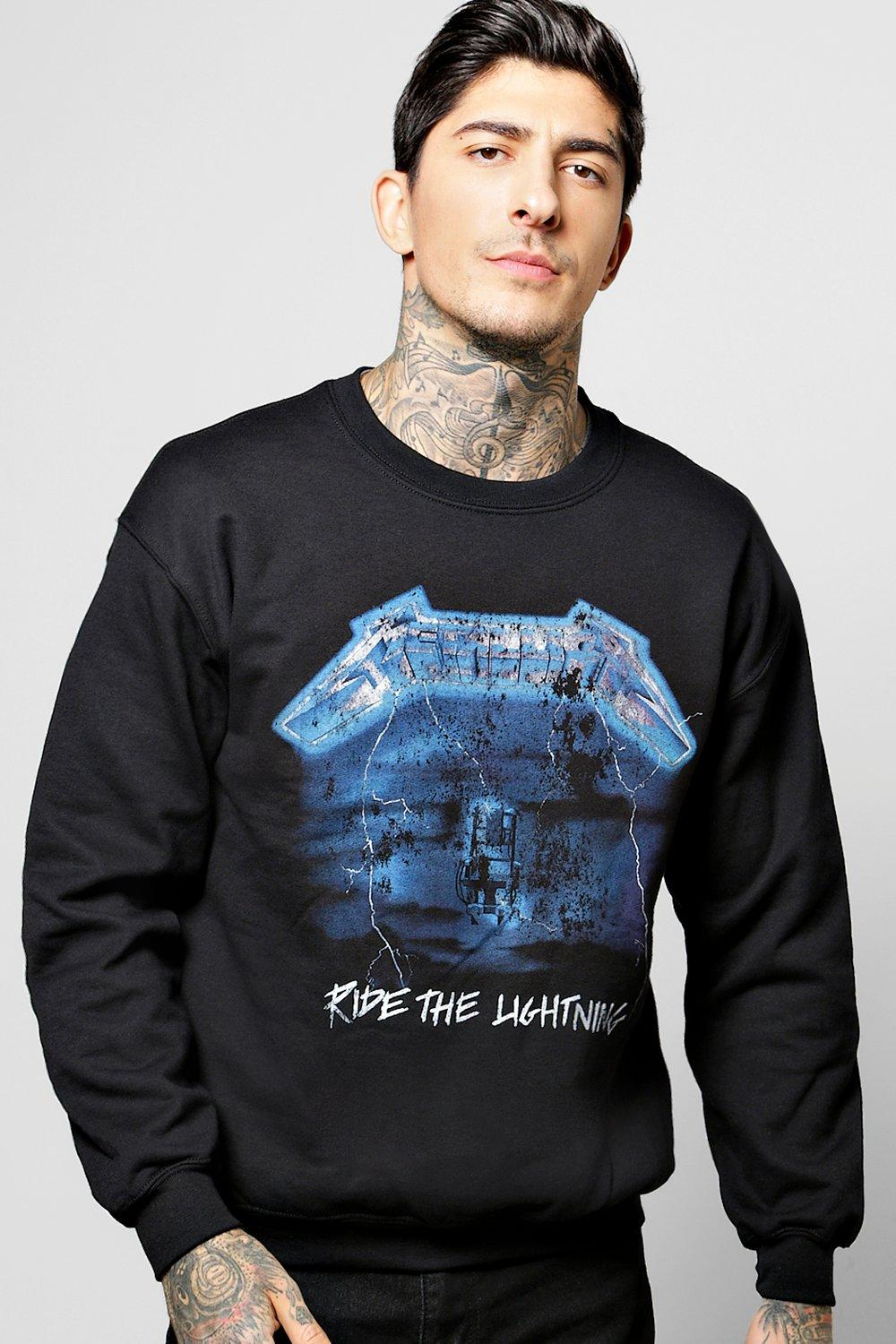 Oversized Metallica Sweatshirt