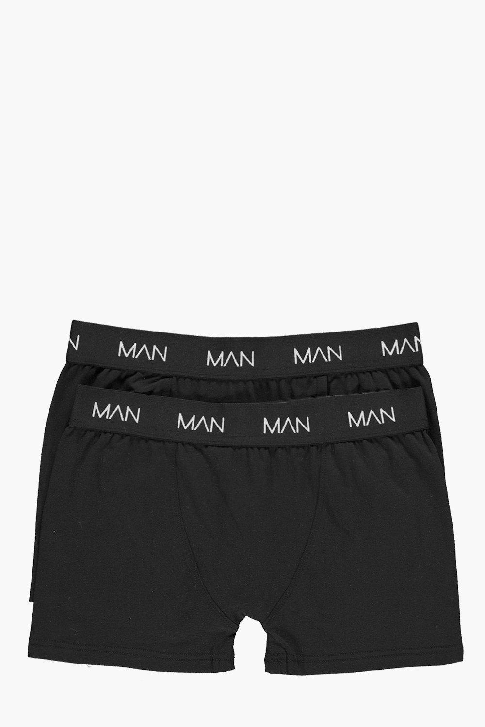 Twin Pack Boohoo MAN Boxers
