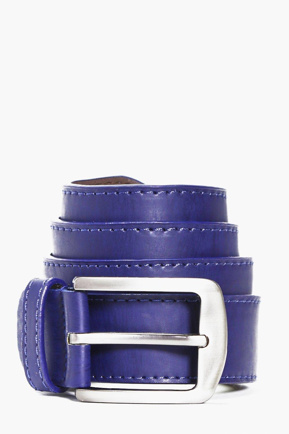 PU Belt With Double Keeper