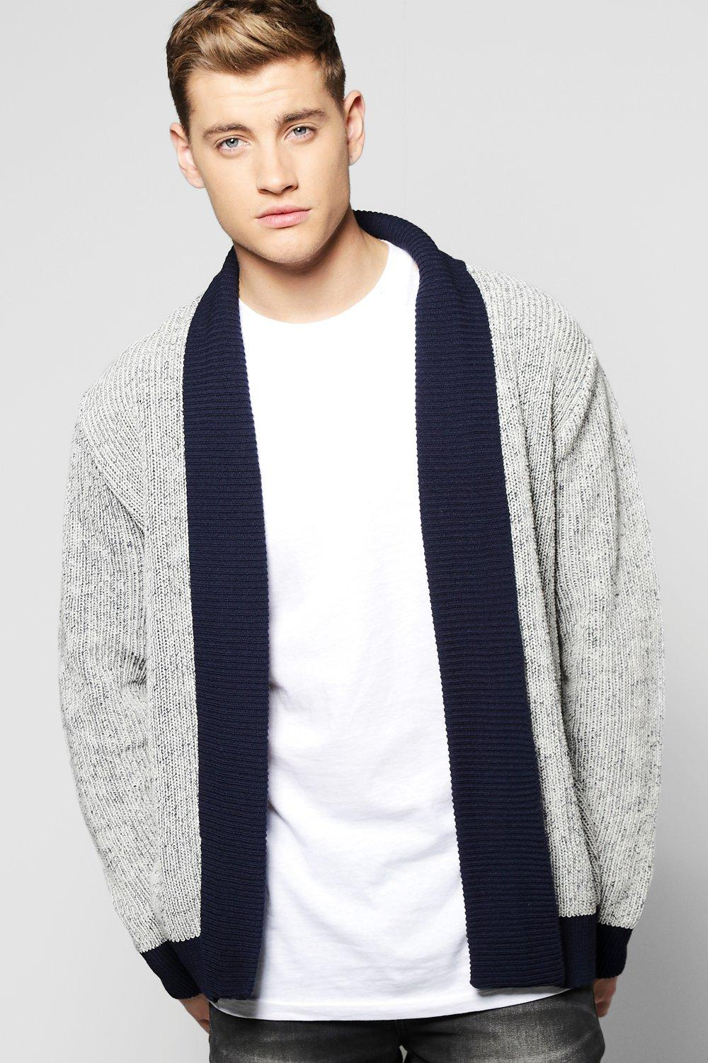 Fisherman Rib Textured Cardigan