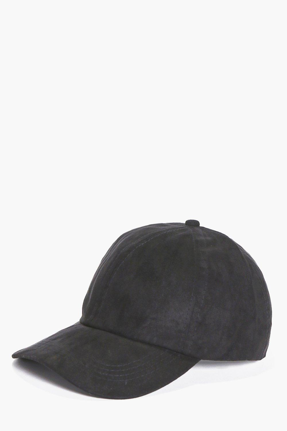 Suedette Snapback