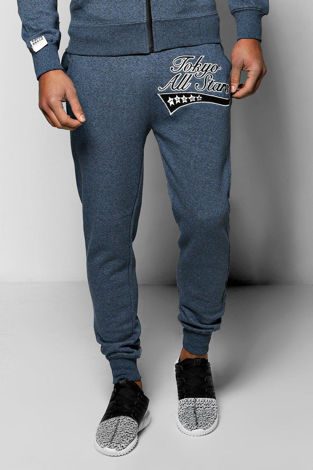 Tokyo All Stars Salt and Pepper Joggers