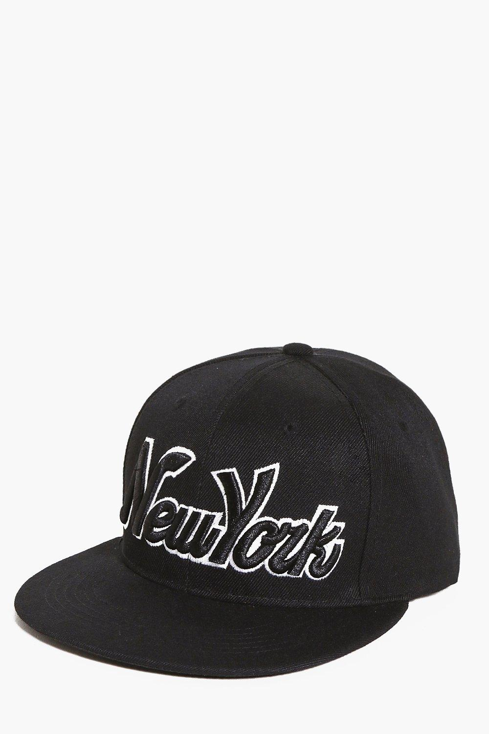 New York Embroidered Snapback