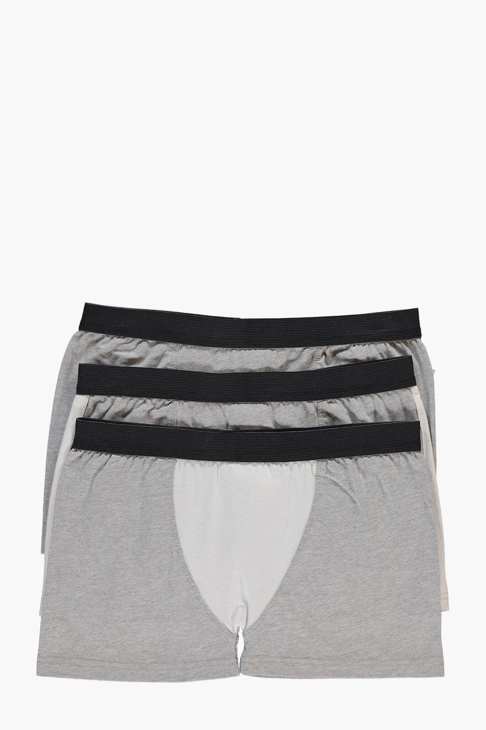 3 Pack Contrast Panel Trunks