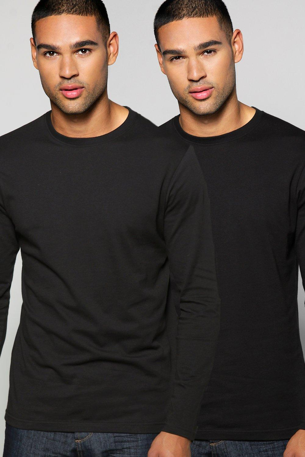 Long Sleeve T Shirt 2 Pack