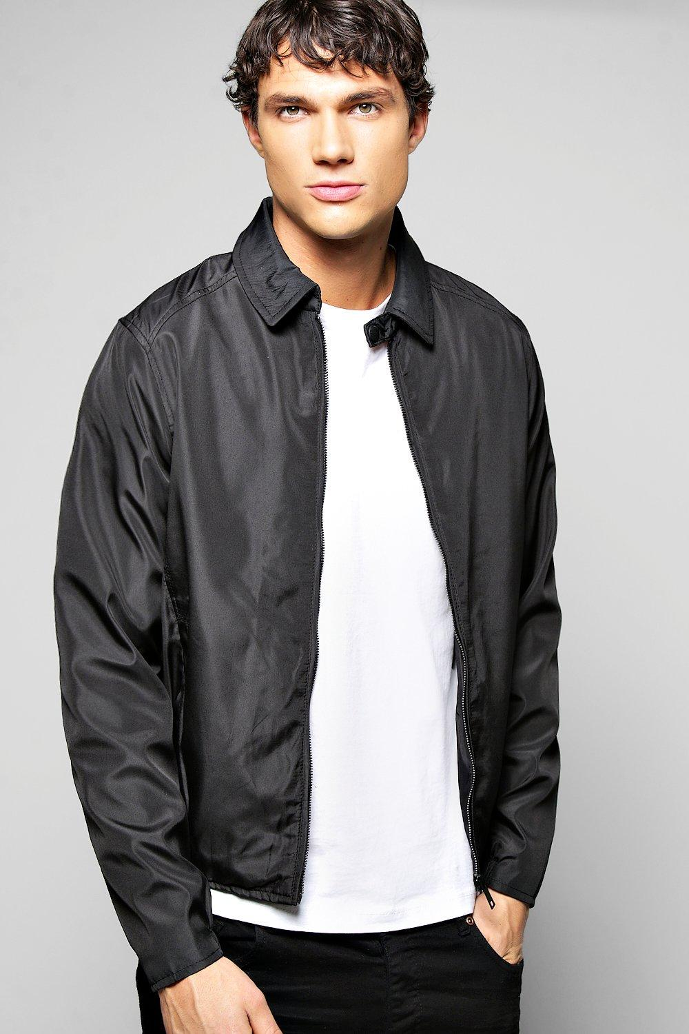 Microfibre Harrington Jacket