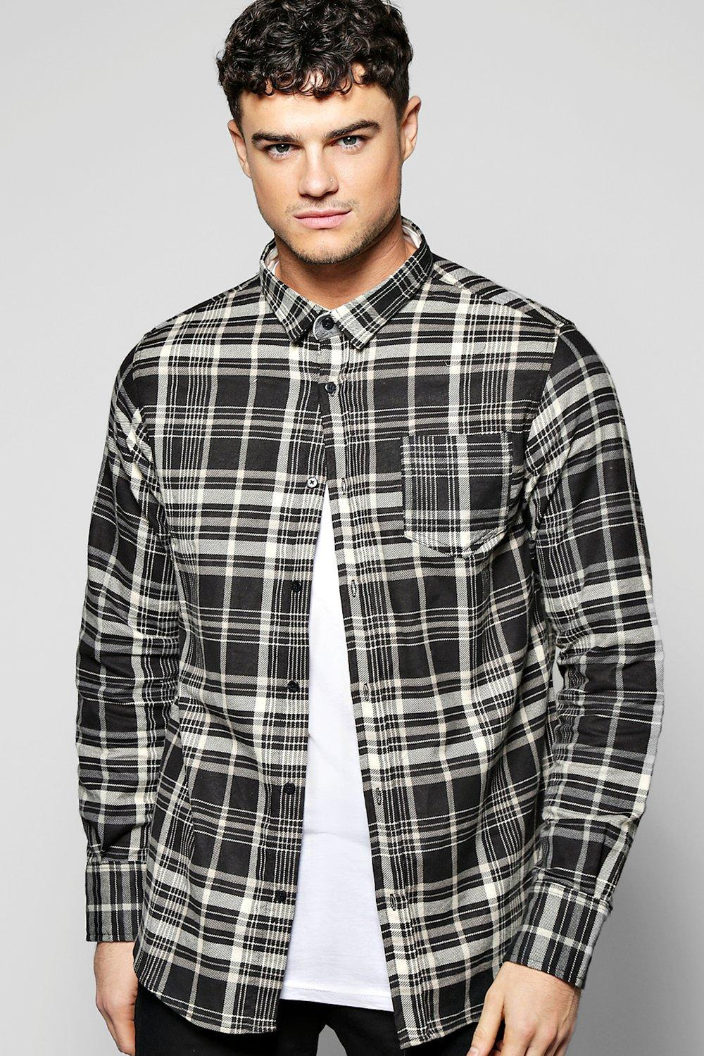 Brushed Check Long Sleeve Shirt
