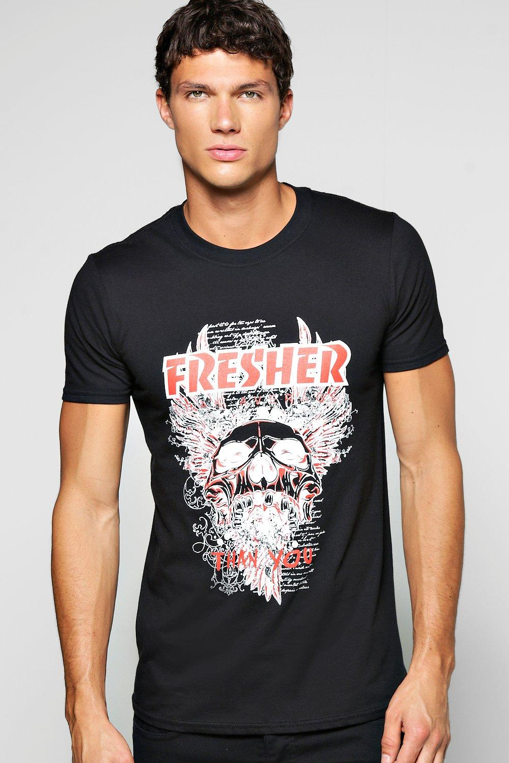 Fresher Metal Print T Shirt