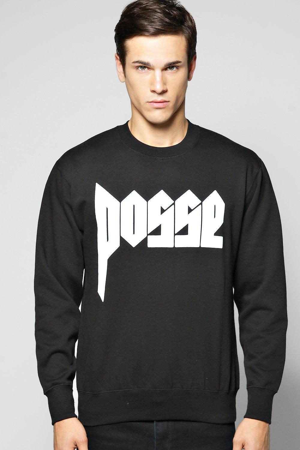 Posse Slogan Sweater