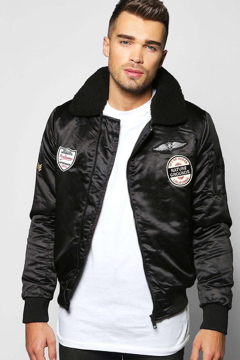 Borg Collar Badged Bomber