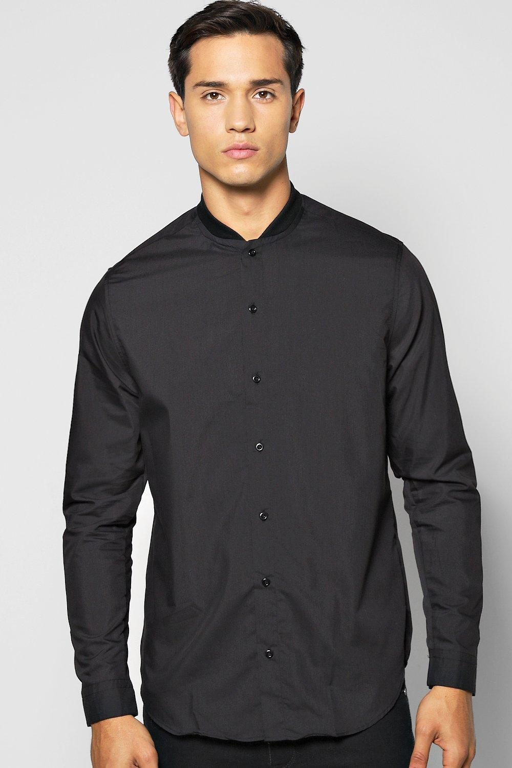 Bomber Neck MA1 Shirt