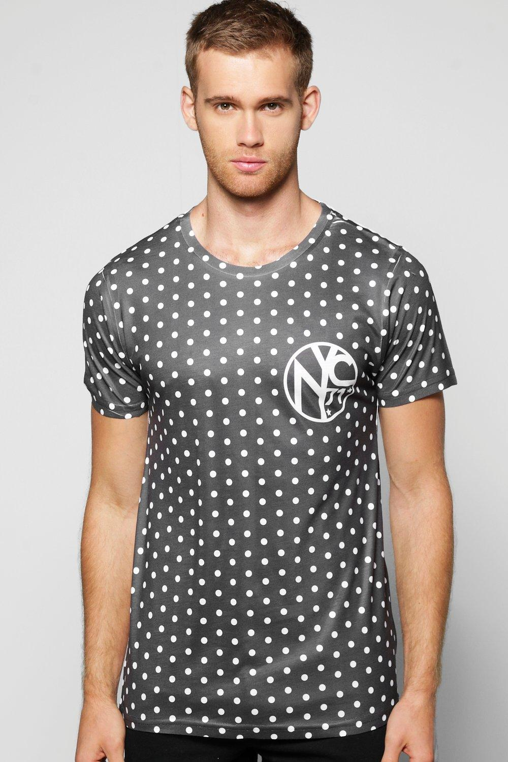 All Over Spot NYC Sublimation T-Shirt