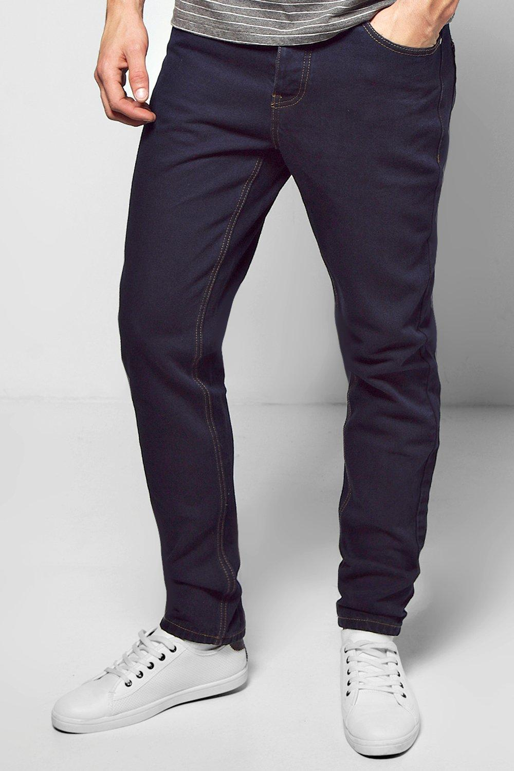 Indigo Slim Fit Rigid Jeans