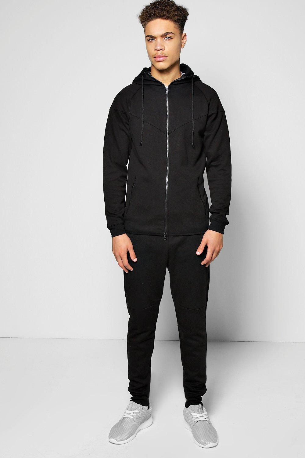 Sports Panel Skinny Tracksuit
