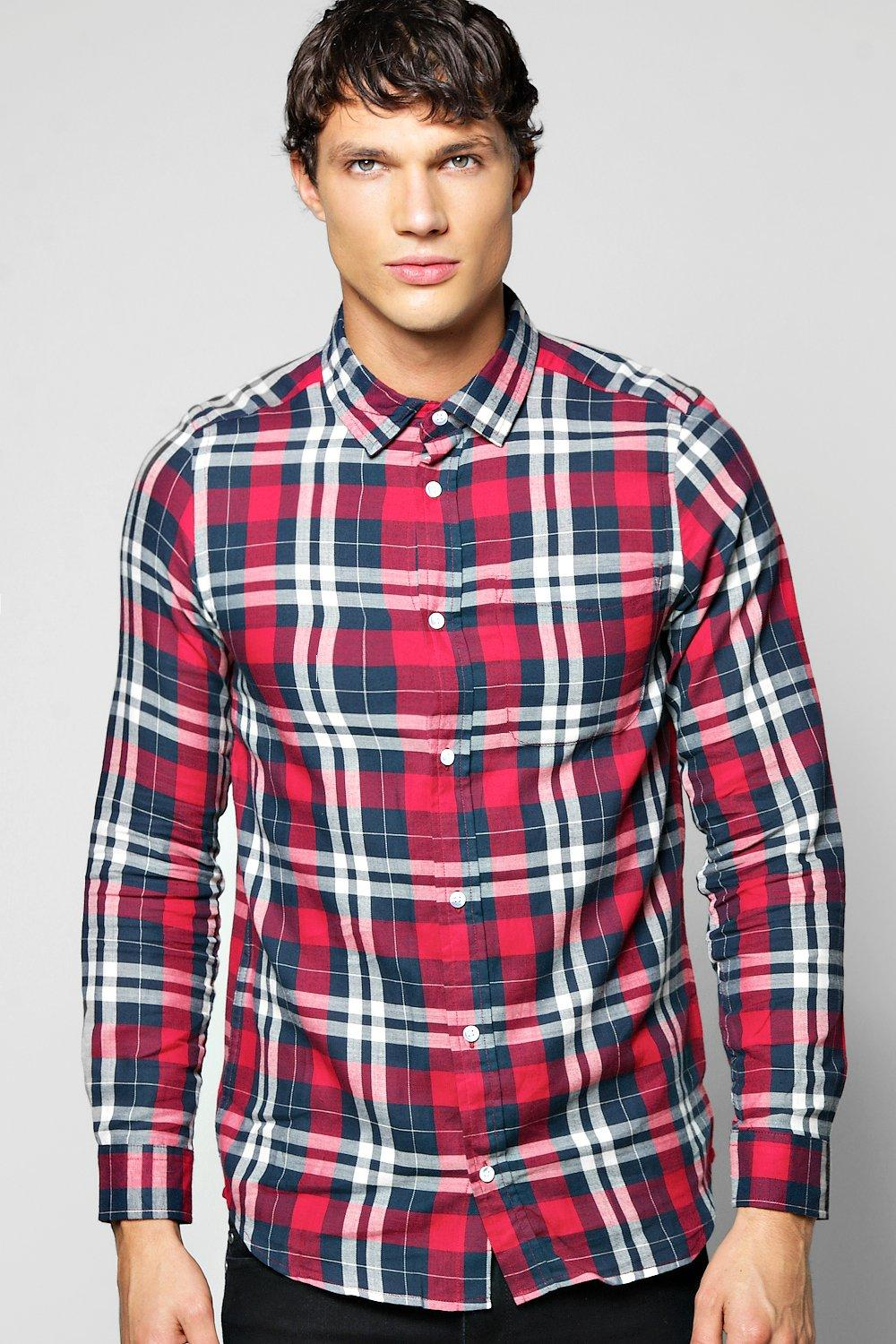 Long Sleeve Check Shirts
