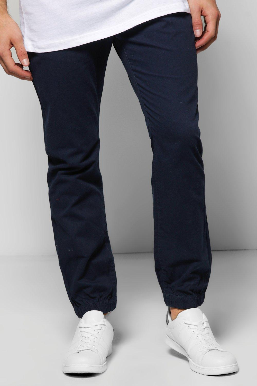 Cuffed Chino Trousers