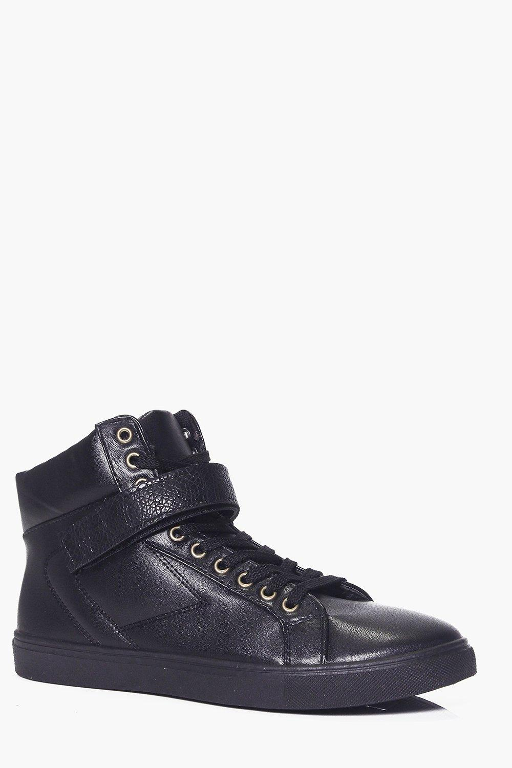 High Top With Buckle Detail