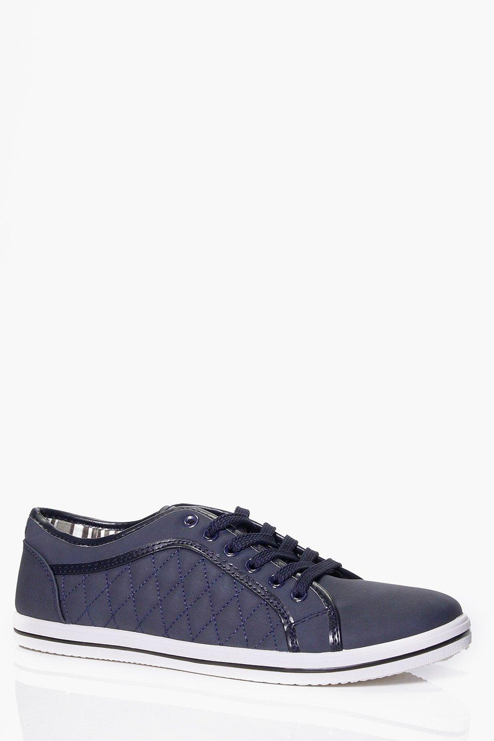 Quilted Plimsolls