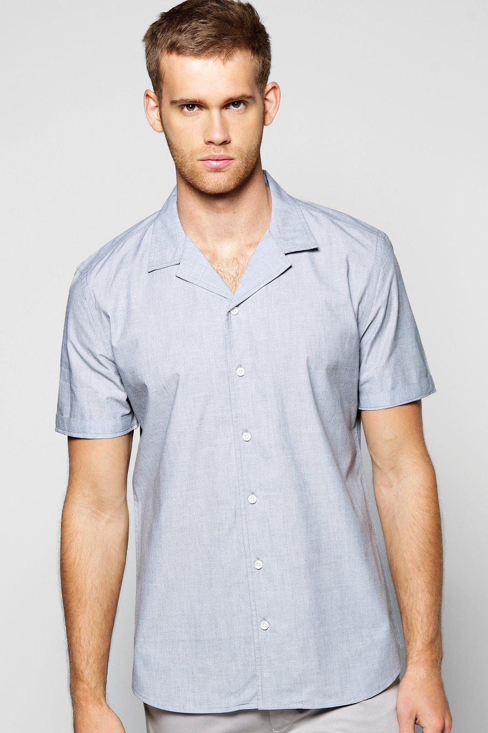 Short Sleeve Revere Shirt