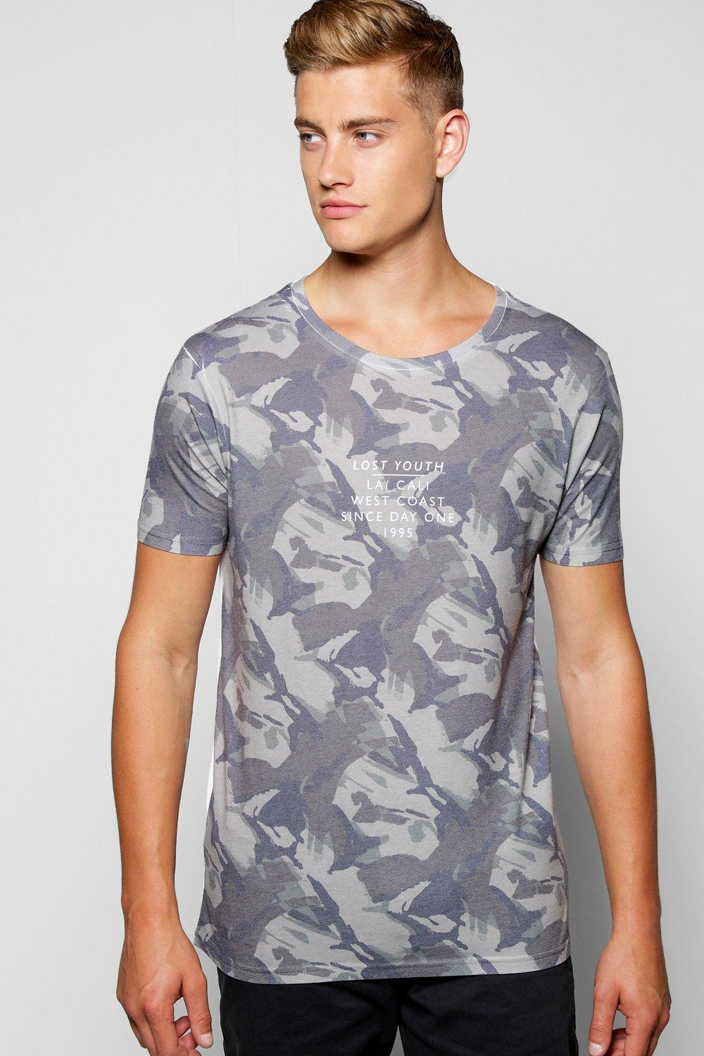 Camo Sublimation T Shirt
