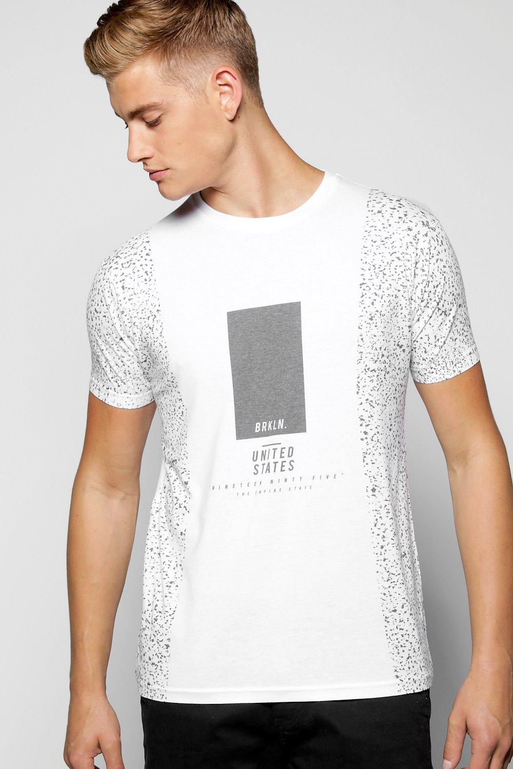 BRKLN Speckle Sublimation T Shirt