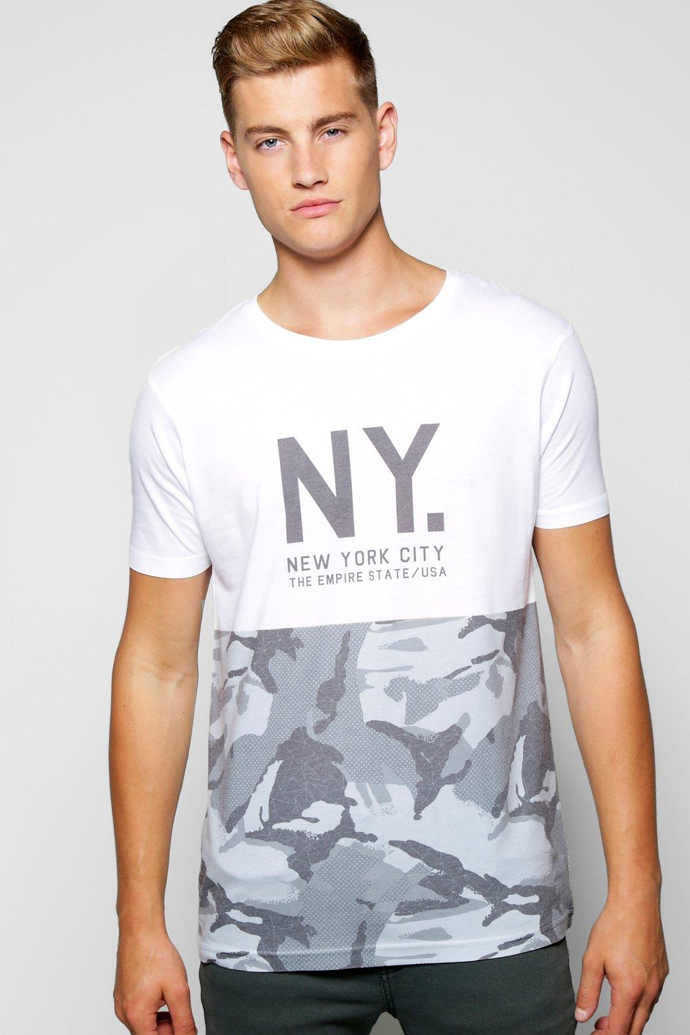 Mono Sublimation NY T Shirt