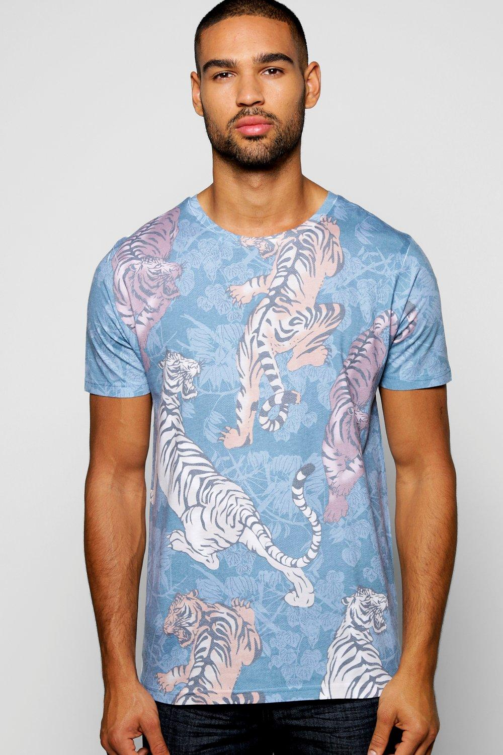 Oriental Tiger Sublimation T Shirt
