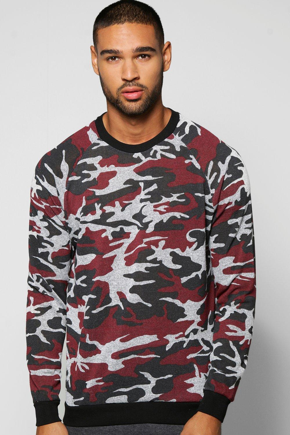Camo Space Sweater