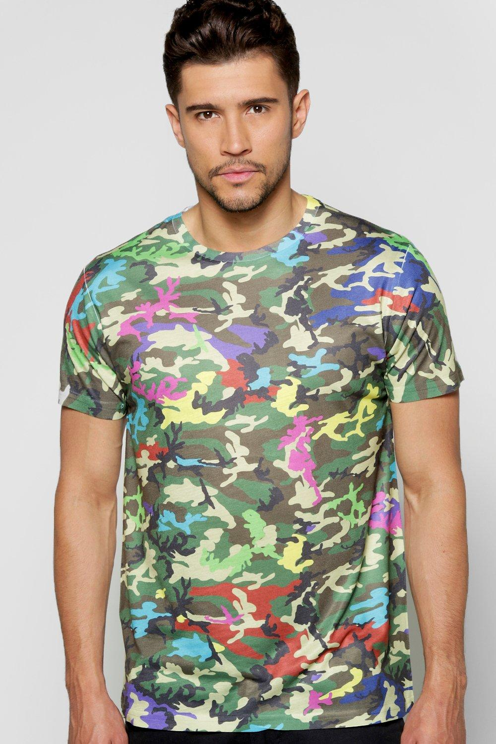 Multi Camo Sublimation T Shirt