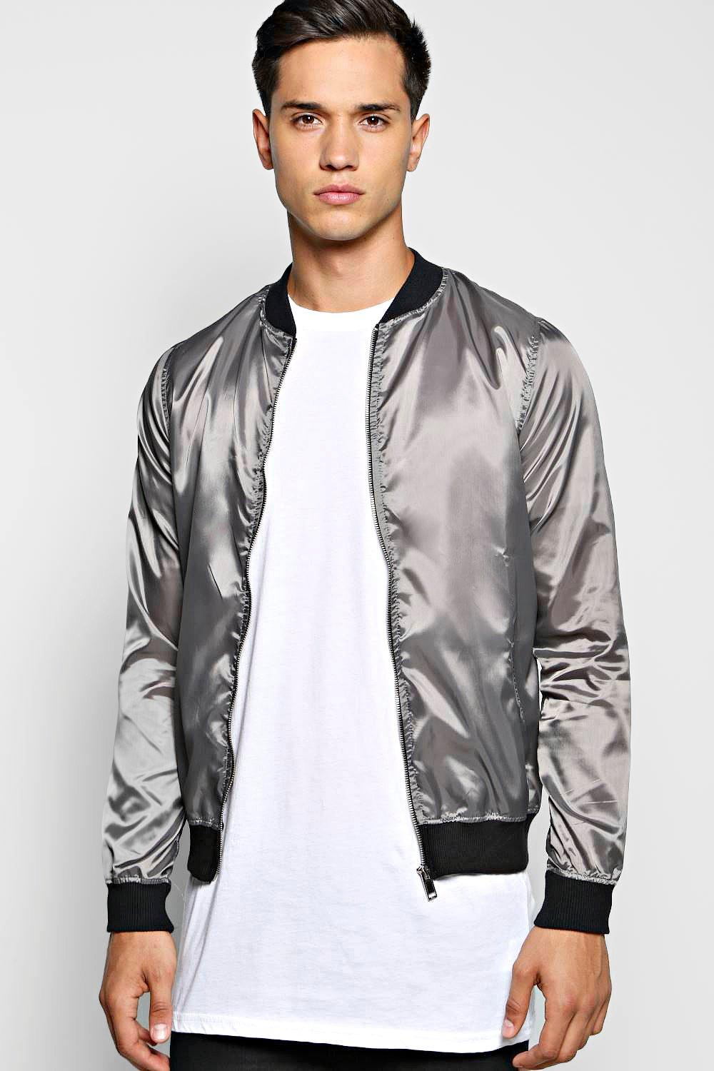 Basic Nylon Bomber