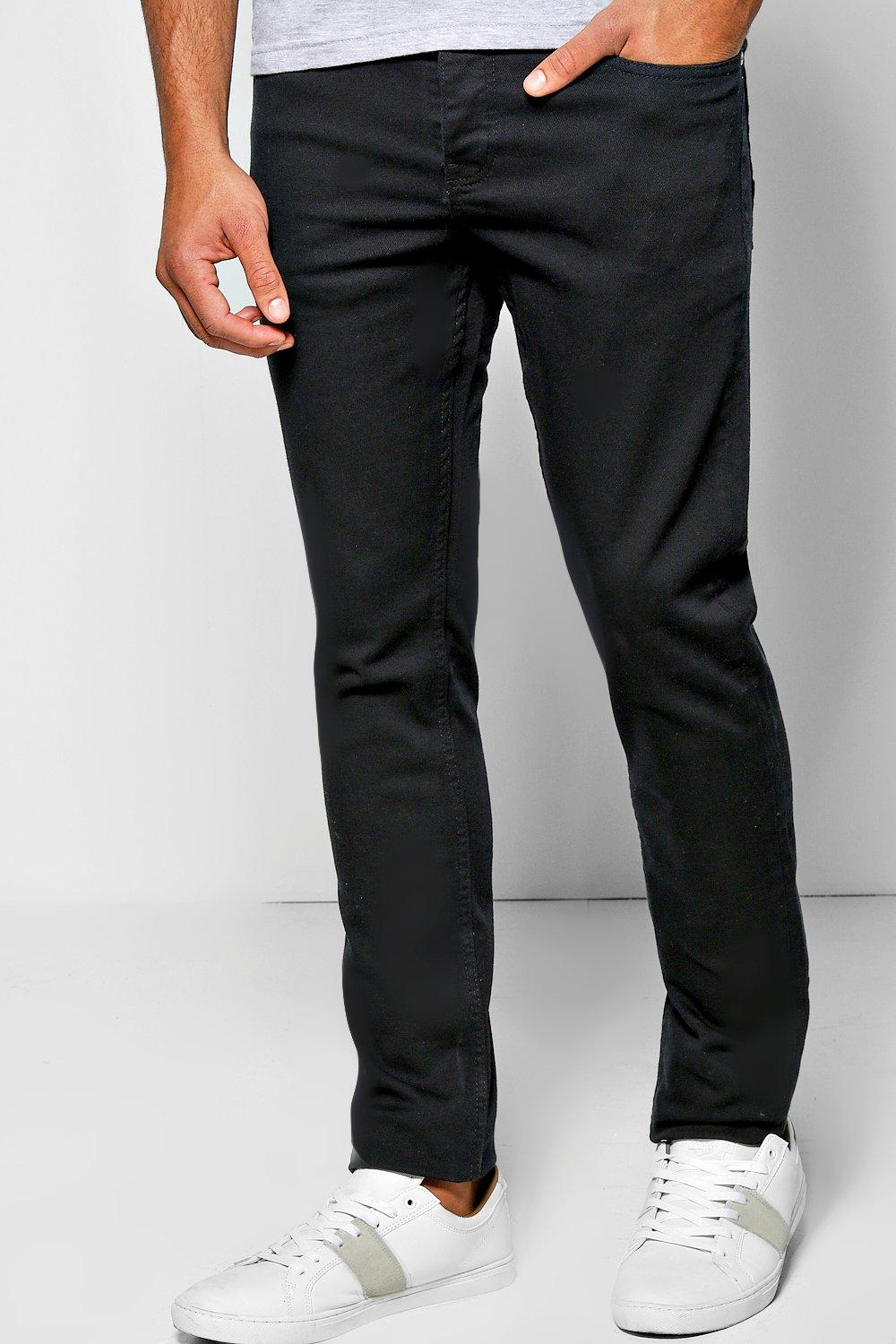 Slim Fit Smart Black Jean