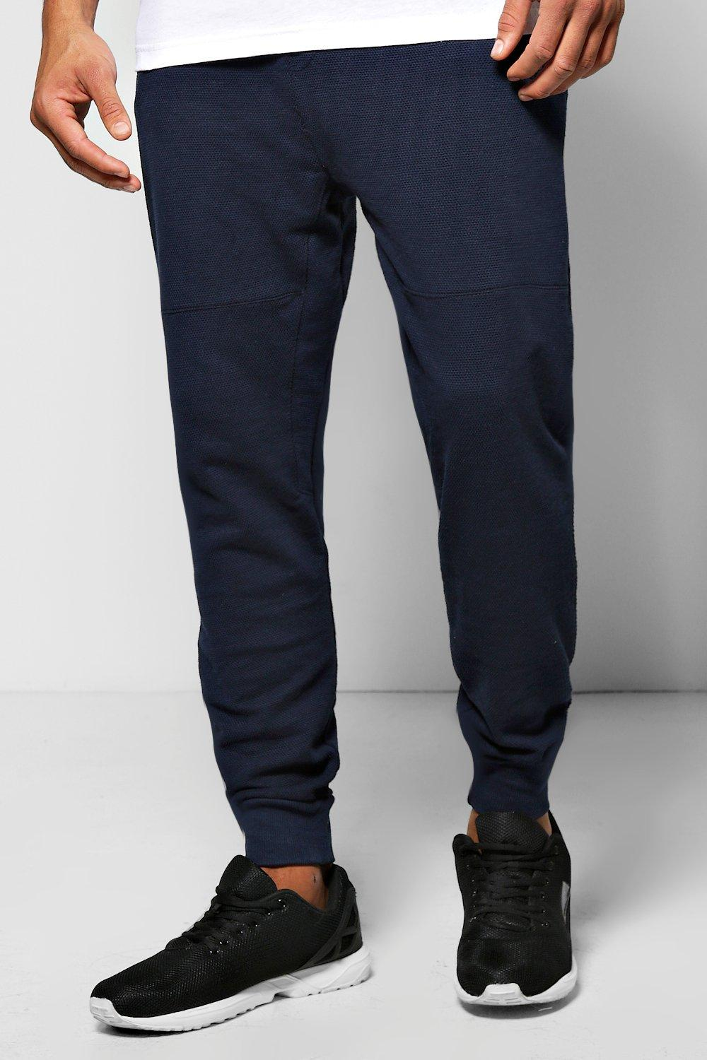 Slim Fit Drop Crotch Joggers