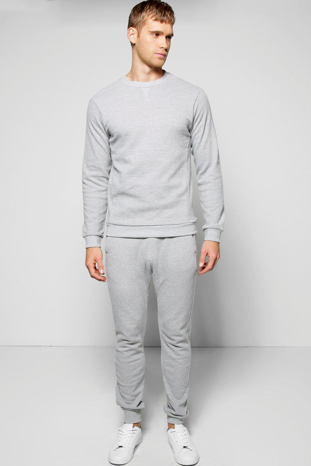 Sweater Tracksuit In Pique
