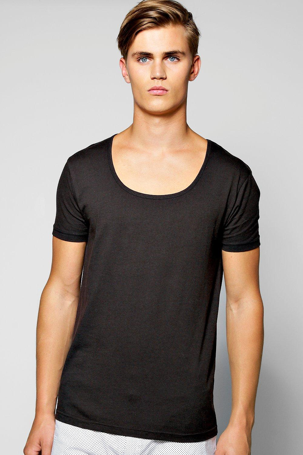 Basic Scoop Neck T Shirt