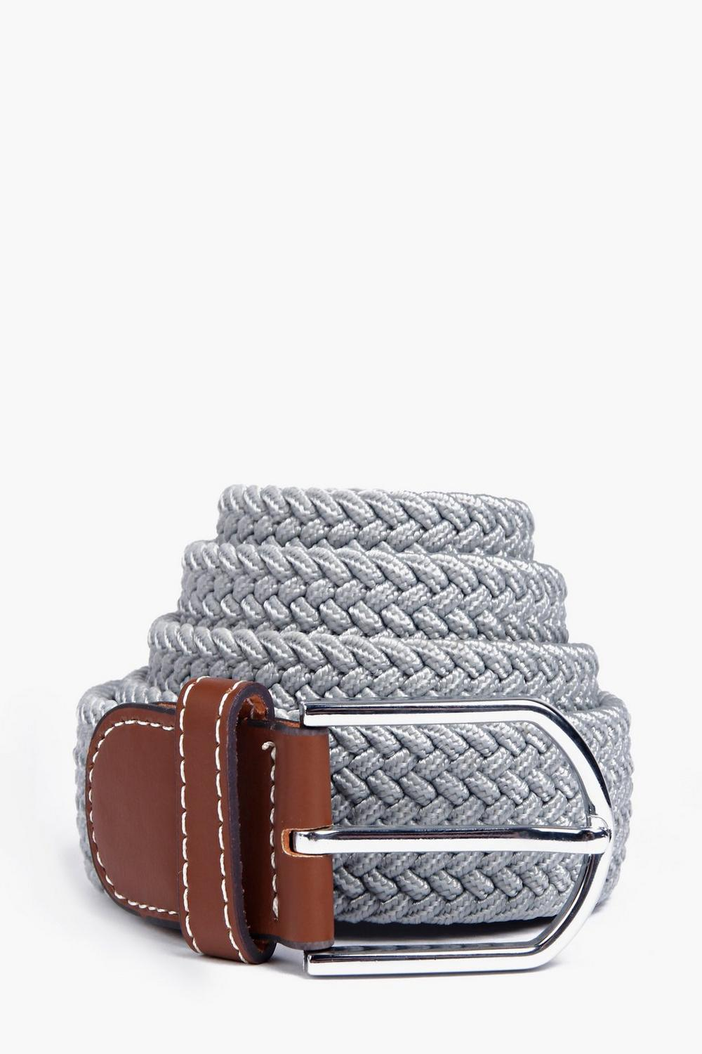 Woven Elasticated Belt