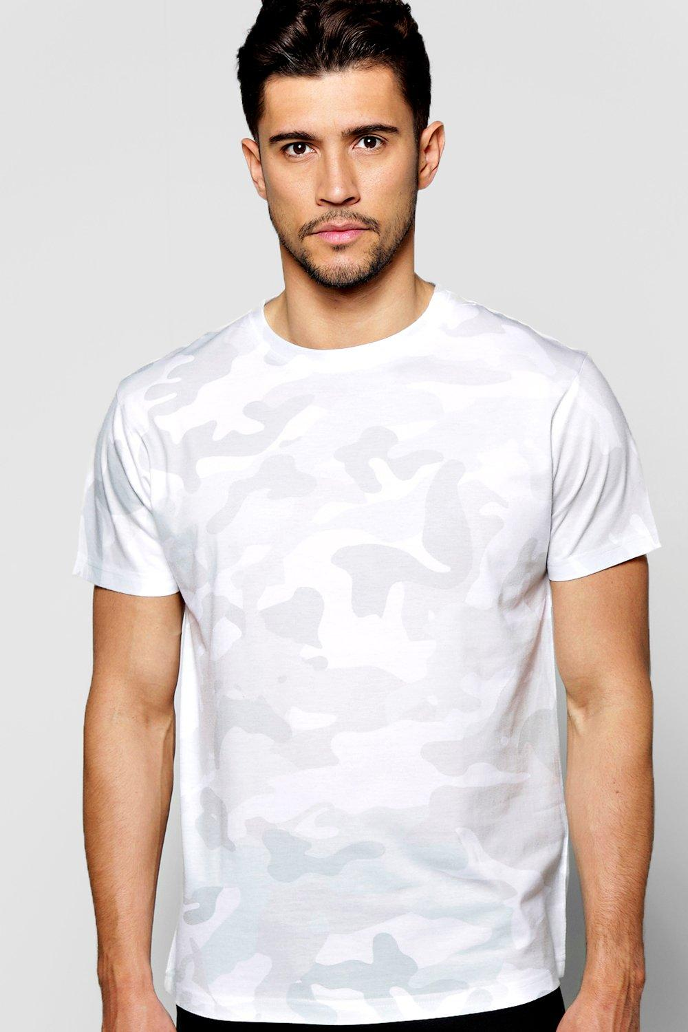 Washed Out Camo Sublimation T Shirt