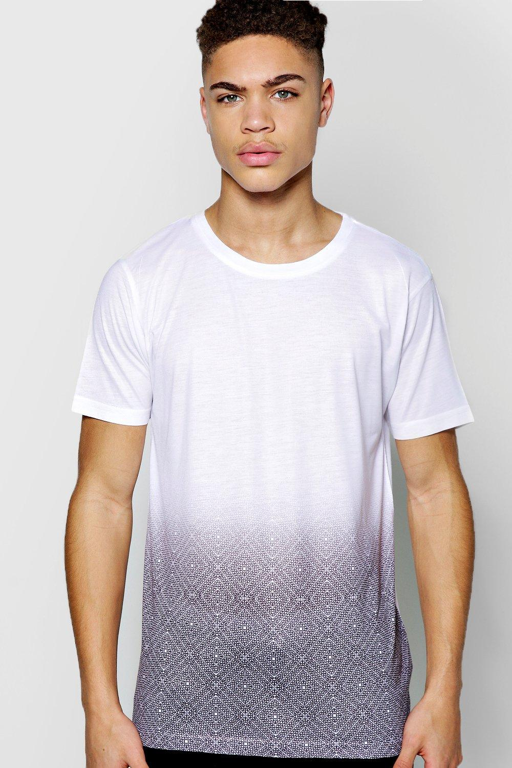 Faded Geo Sublimation T Shirt
