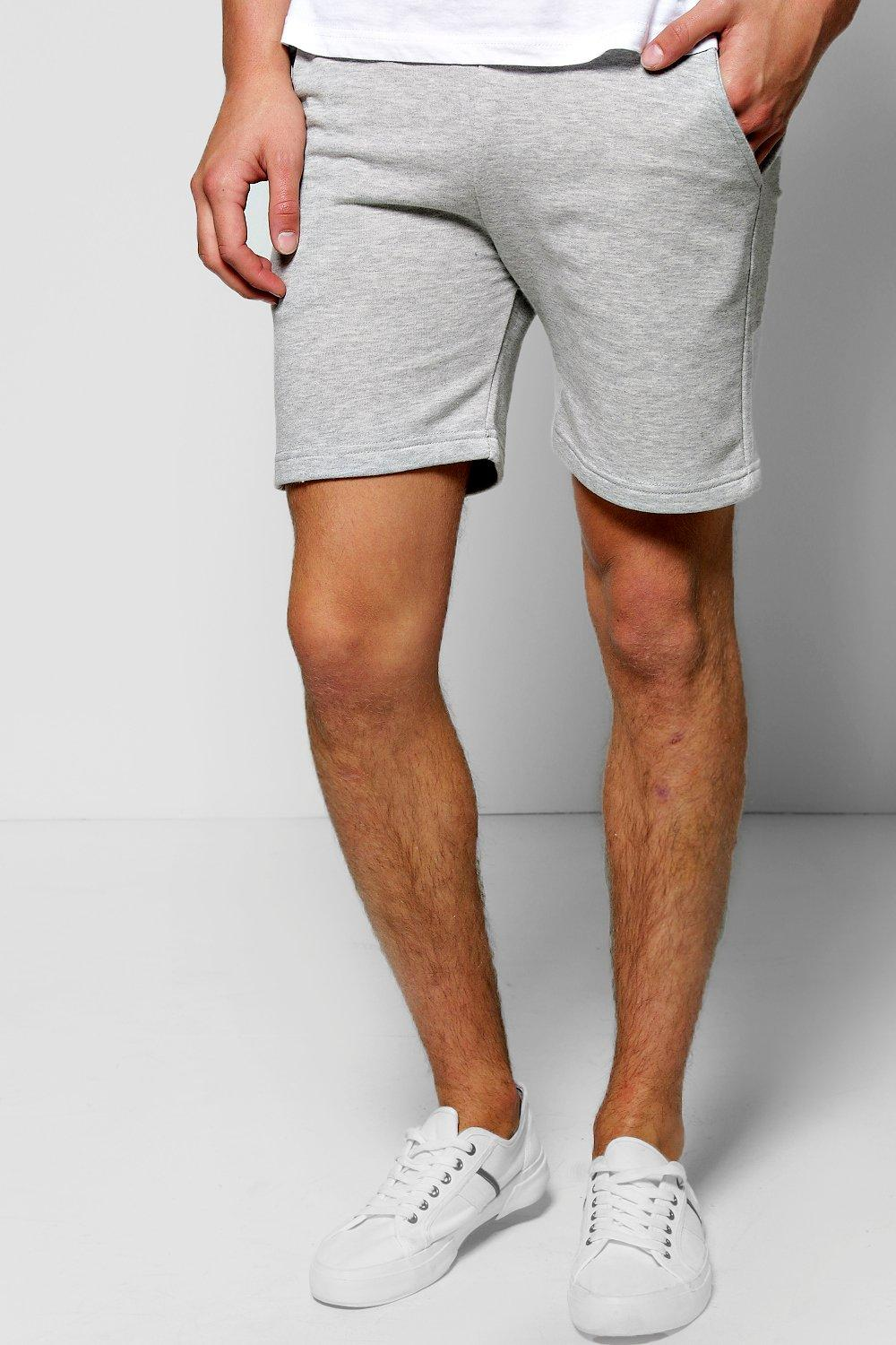 Skinny Fit Jersey Shorts